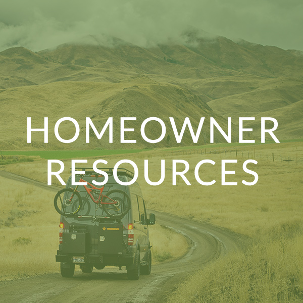 Homeowner Resources image with bike